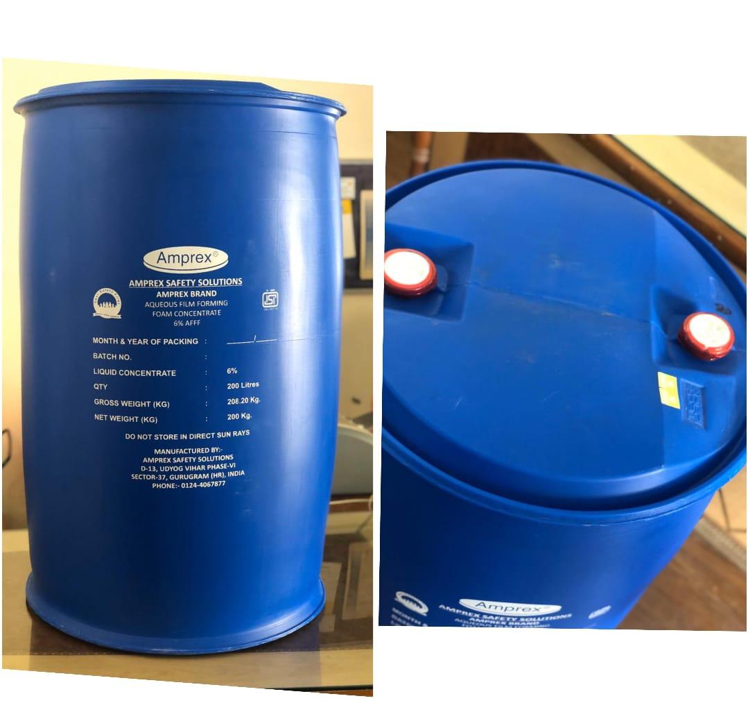 Chất tạo bọt chữa cháy cô đặc (Foam concentrate) của hãng AMPREX Pvt.,Ltd (Ấn độ)