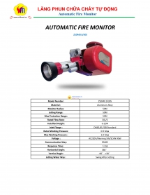 Automatic Monitor Fire Fighting