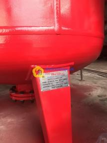 Bồn chứa Foam dạng đứng 600gal (2.271L)