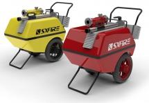 Mobile Foam Cart - Xe chữa cháy Foam di động
